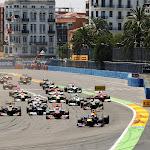 2012 European F1 GP starts