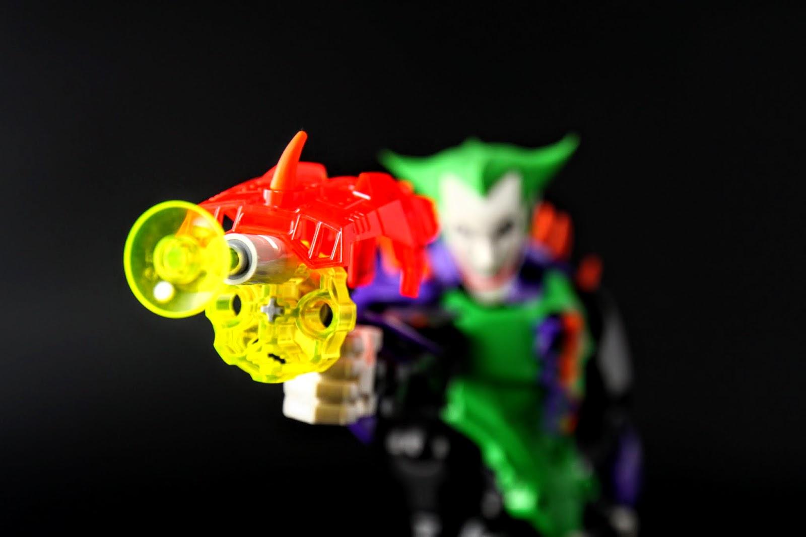 小丑的手槍,但這把比較像是光波槍之類的