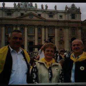 2004 rok - Kaszubska Pielgrzymka do Watykanu