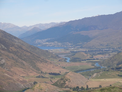 Queenstown from The Crown Range Road
