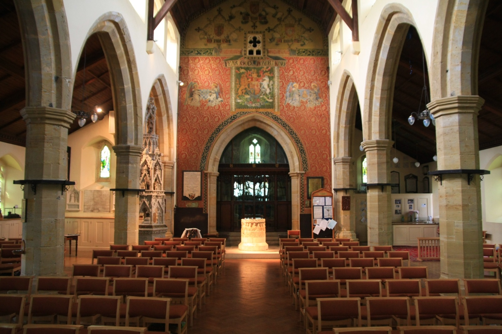Interior of St. Nicholas'