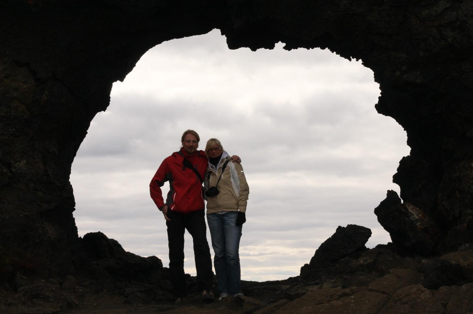 Dark portal at Dimmuborgir