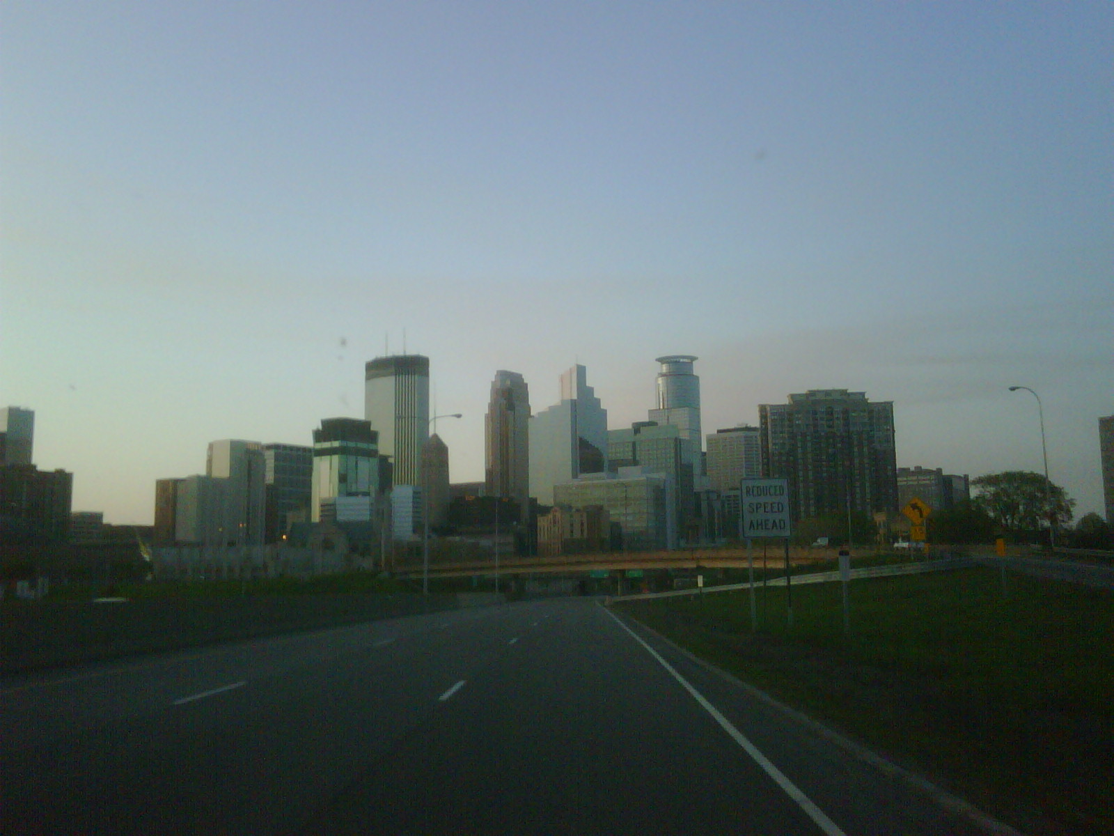 Is that vulcanic ash or smog above Minneapolis?