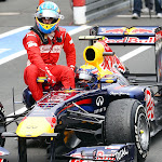 Webber taxi driver for Alonso