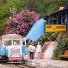 Rail Car at Barog railway station