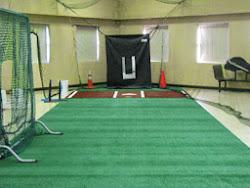 Pitching, Catching, & Hitting Room