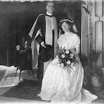 Wedding of Henry Guy Ellcock Pilgrim to Beatrice Lucy Wrenford in Calcutta, 1908
