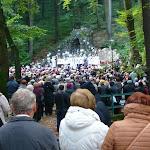 Rengeteg hívő hallgatta a szentbeszédet
