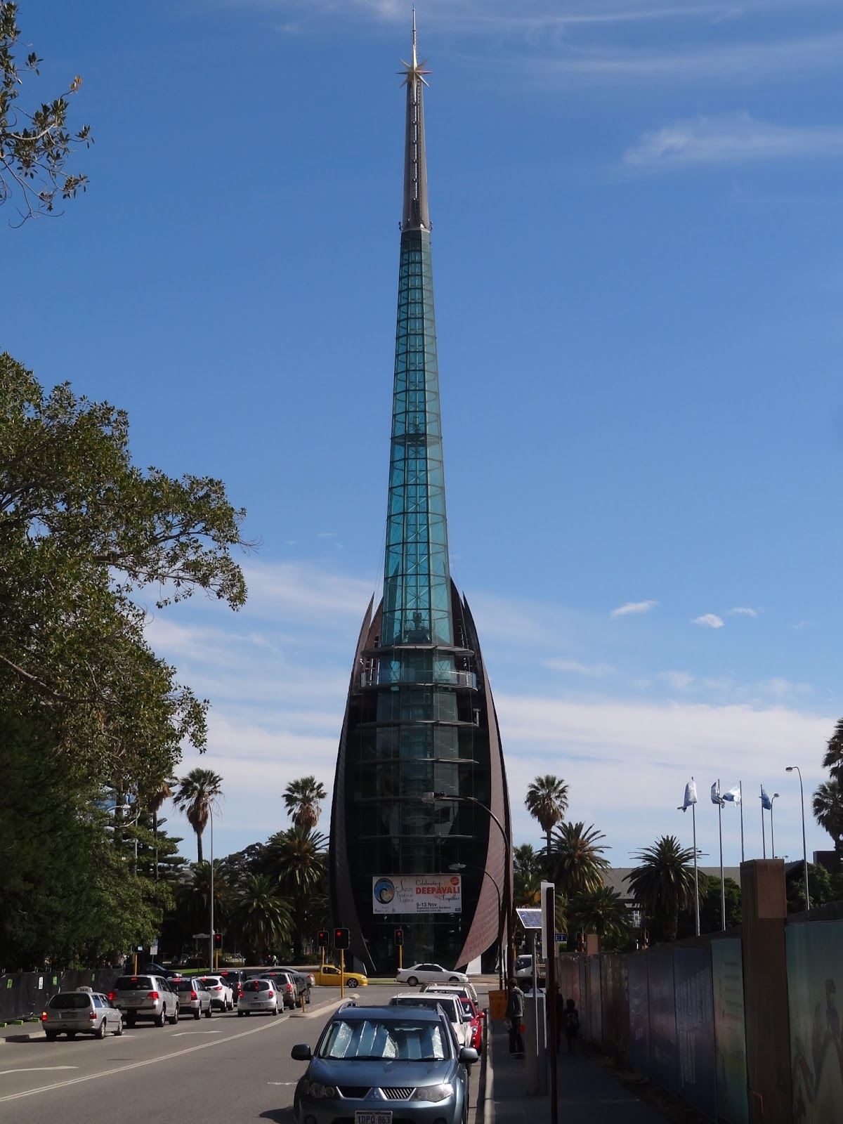 Back in Perth at the Bell Tower