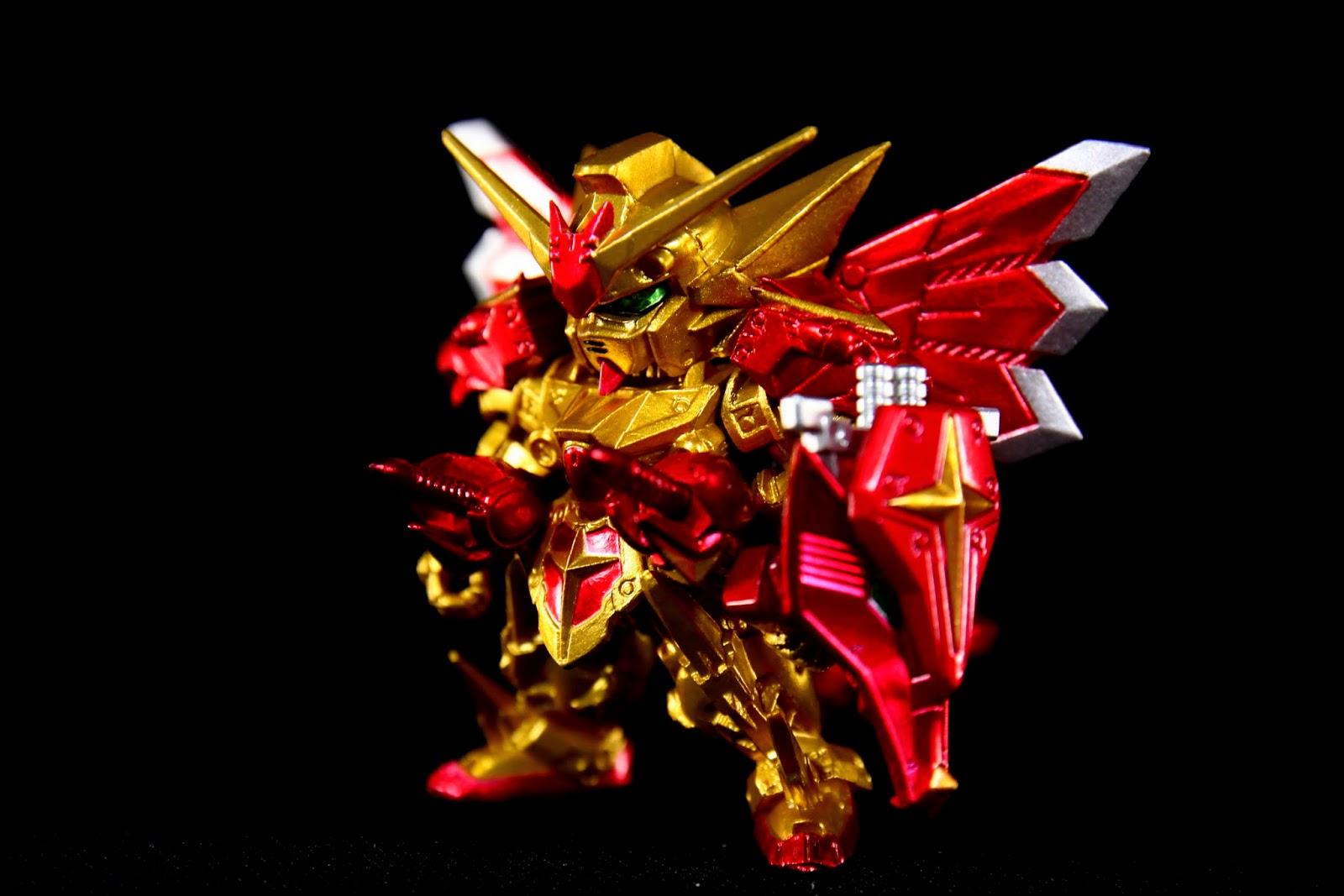金光閃閃就是他的正字標記, 這只是他最初的樣貌