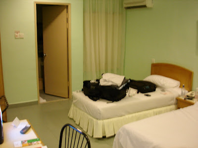 My room for the night