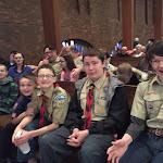 Scout Sunday - February 2016
