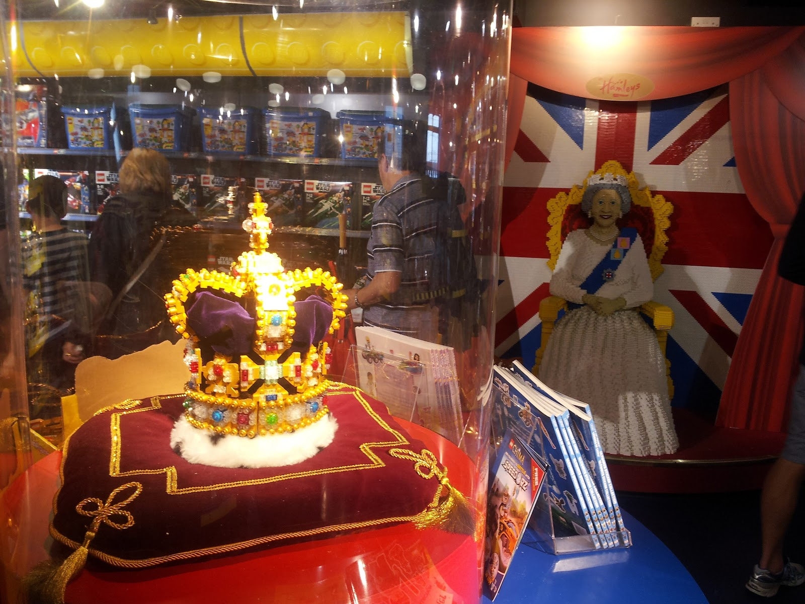 The crown jewels at Hamley's