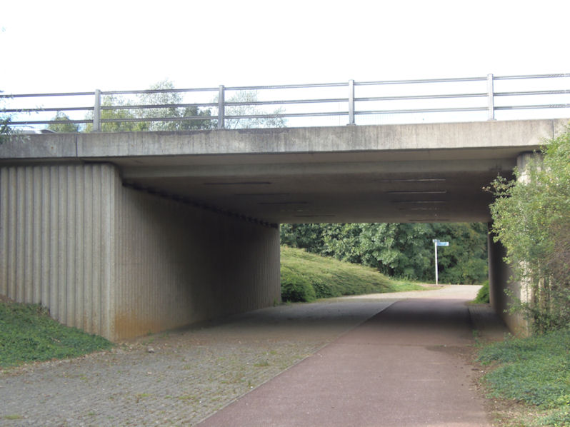 Under the A421