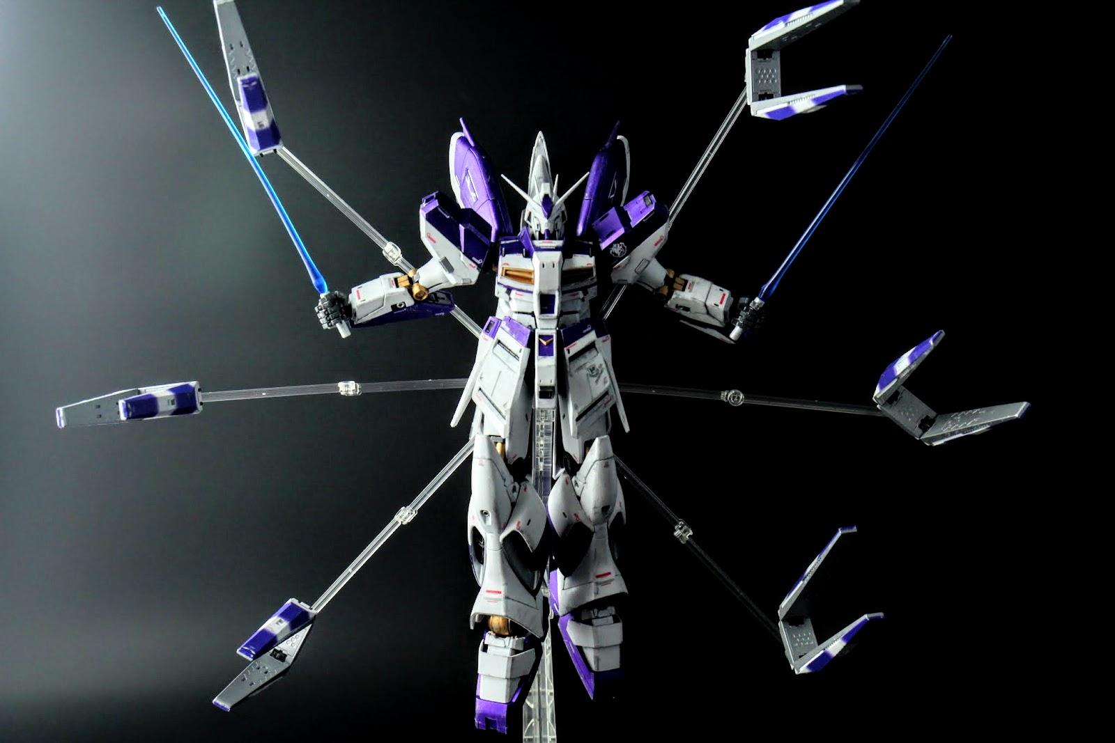 當然,最具特色的武裝-FinFunnel也有支架來展示