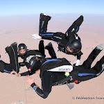 L'équipe de France de VR4 Féminin en entrainement à Dubaï , fev. 2015 © Olivier Henaff