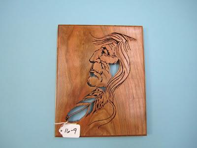 "Indian Head Cherry Pattern by Tom Mullane  ""OLD GRIZ"""