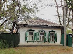 Kazaška kuća na periferiji Aktobea