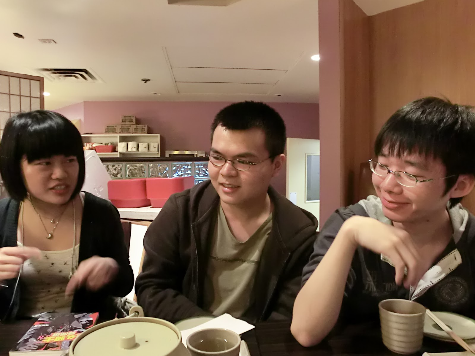 Food outings 2011/2012