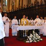 Dr. Udvardi Gyügy pécsi megyéspüspök celebrálta a szentmisét