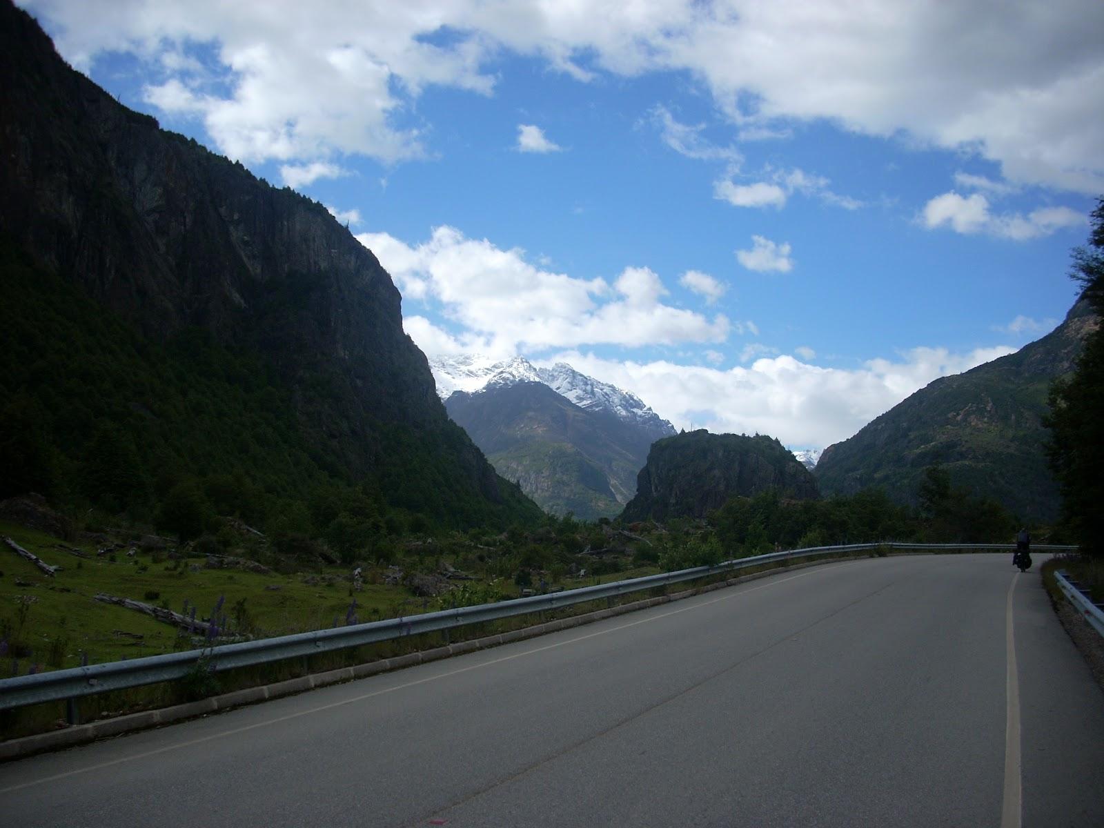 Fine day, smooth roads, such a change