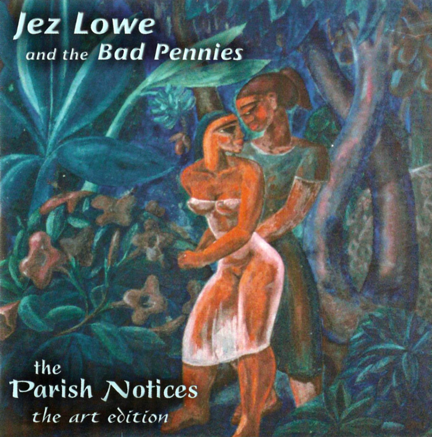 Album-Cover of the Parish Notes by Jez Lowe