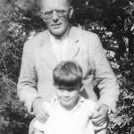 Joseph and Alex Fry, at The Manor House, 1930s