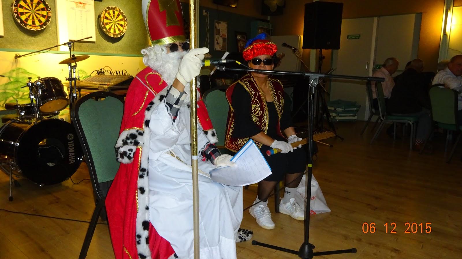 Sinterklaas Sociëteit 6 dec. 2015 (Foto's Roy Schuttevaer)