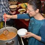 Goulash gypsy préparée par la famille Audigane et servie par Agnès Layaz.