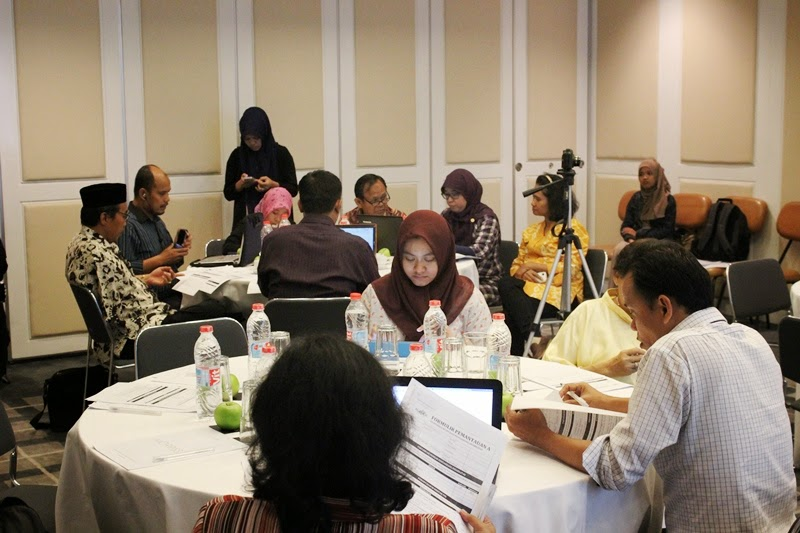 Reviewing Checklost on Tailoring Workshop 17 June 2014
