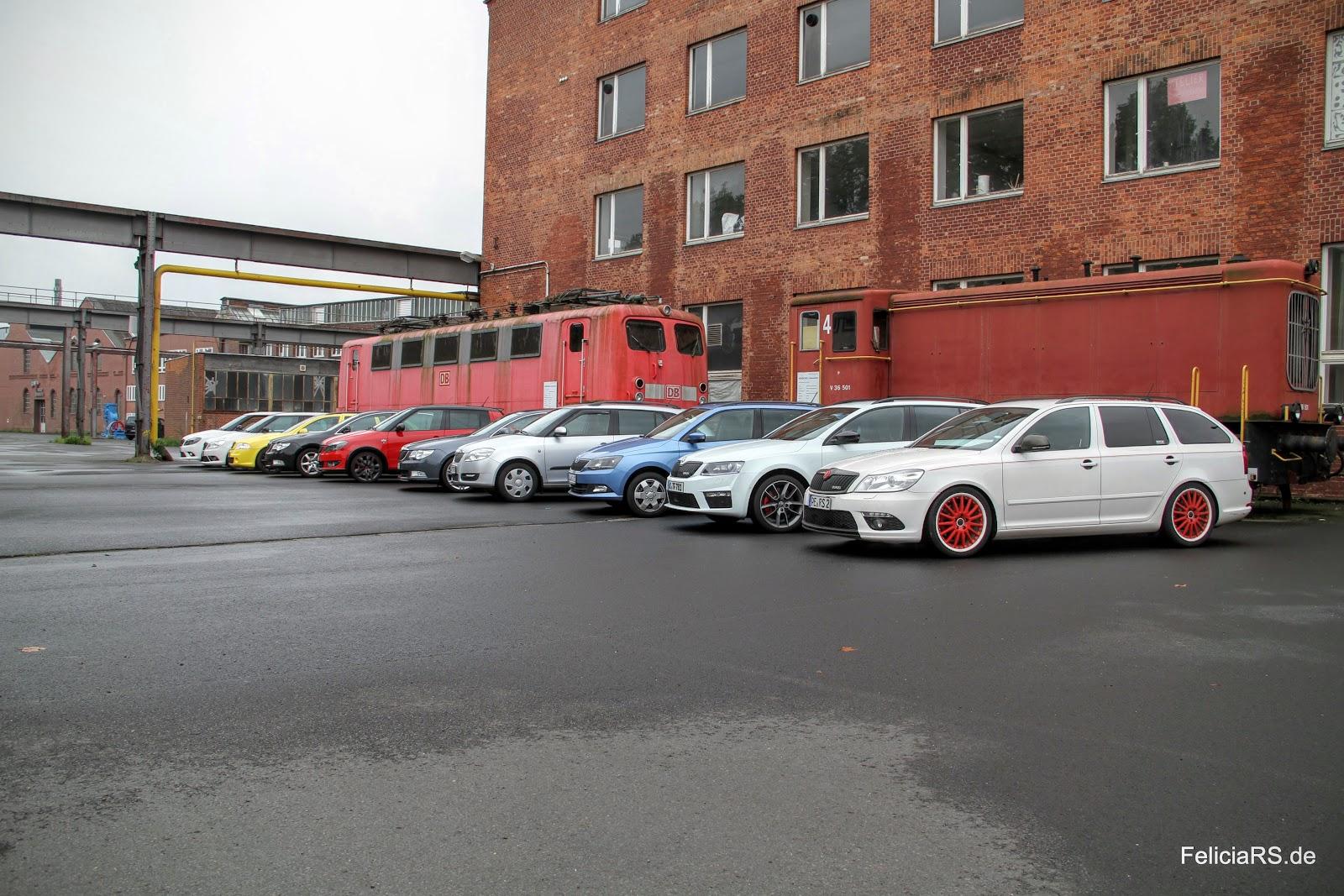 Gruppenfoto Autos