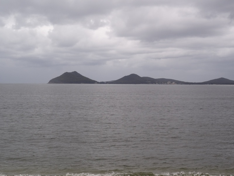 Nelson Bay from Jimmys Beach