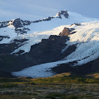 Vatnajökull is climbing down the mountains like a gigantic spider