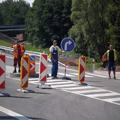 Otevření nového mostu