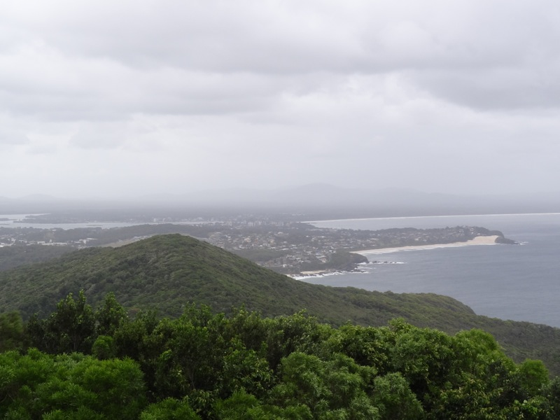Forster from Cape Hawke Lookout