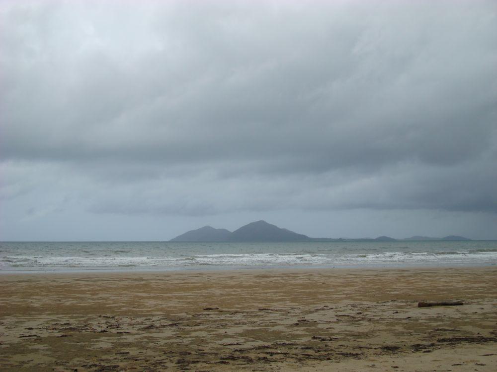 Mission Beach looking toward Dunk Island