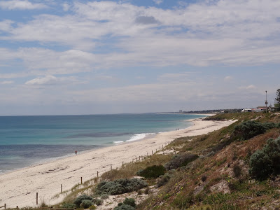 Cottesloe Beach looking north to Scarborough