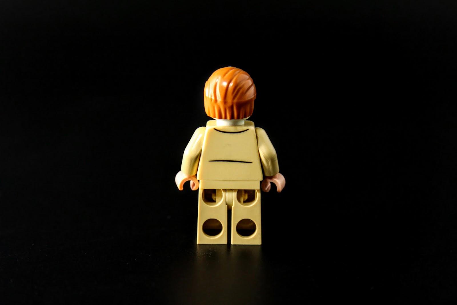 基本上LEGO絕境士兵都是蒼白臉,身體不好