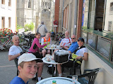 Tea in Gisors  (by Sarah)