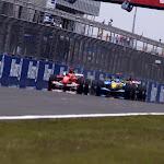 Start of 2004 European F1 GP