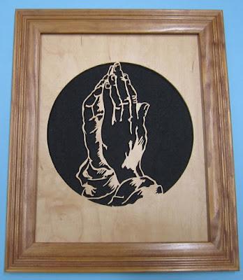 Praying Hands Portrait John A. Nelson SSWC 2012