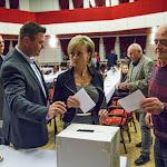 Orosz Csaba is szavaz