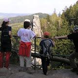 Výhled z Prachovských skal