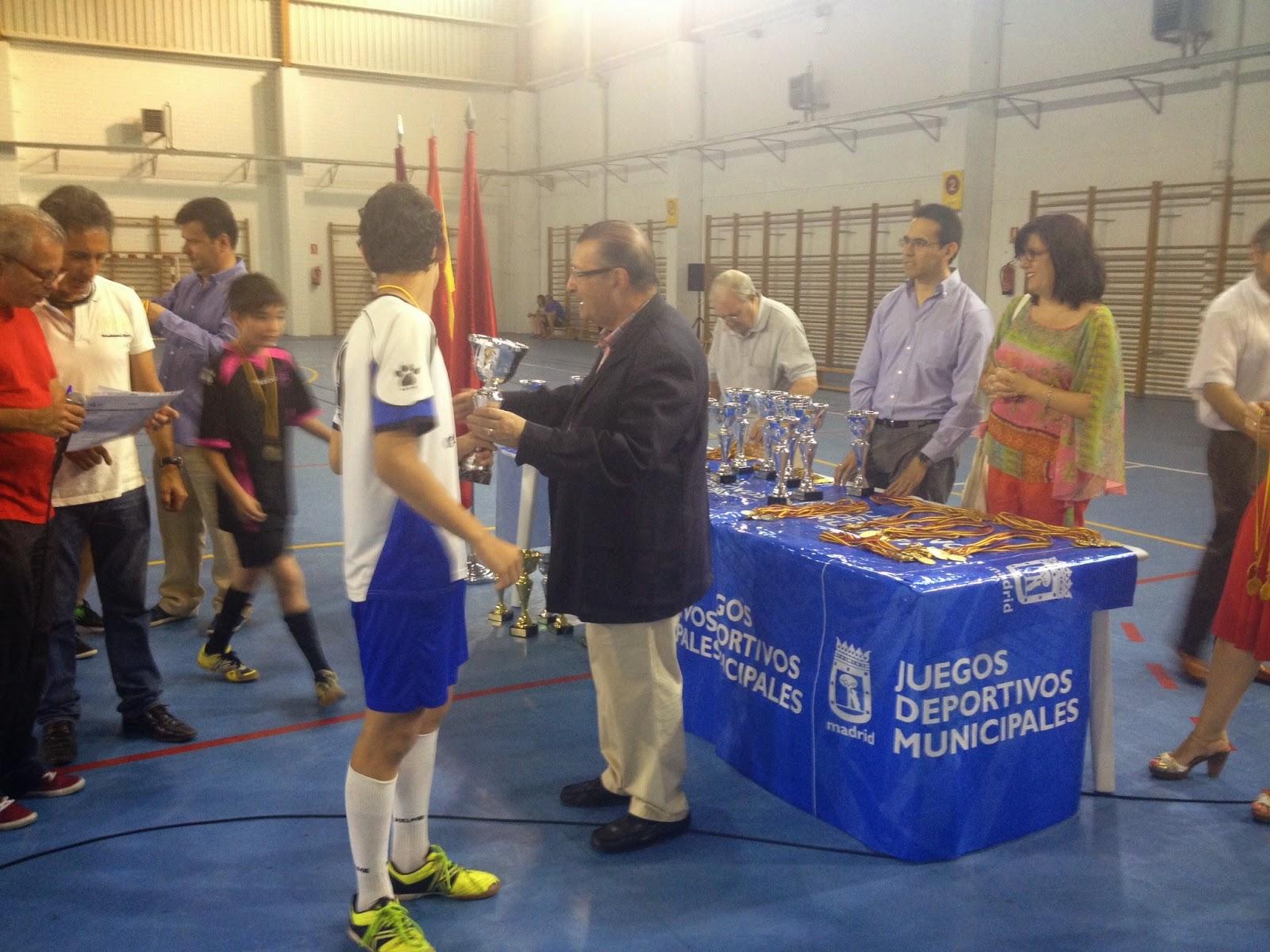 Entrega Trofeos Juegos Municpales