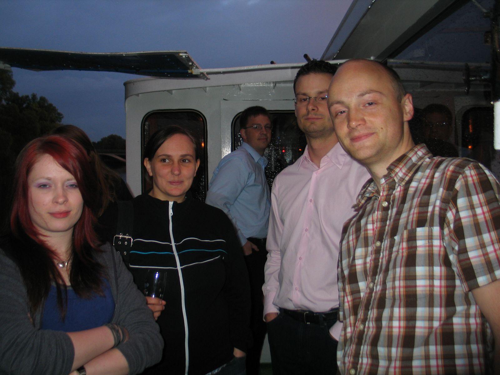 """River-Boat-Pray&Party"" Ökumenischer Semesterabschluss Sommer 2009"