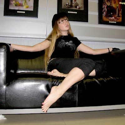 Татьяна Рыбалко, модель Студии RBF и гидесса Siberian Barefoot Travel Center
