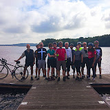 At Bewl Water, on Roy Watson's ride.