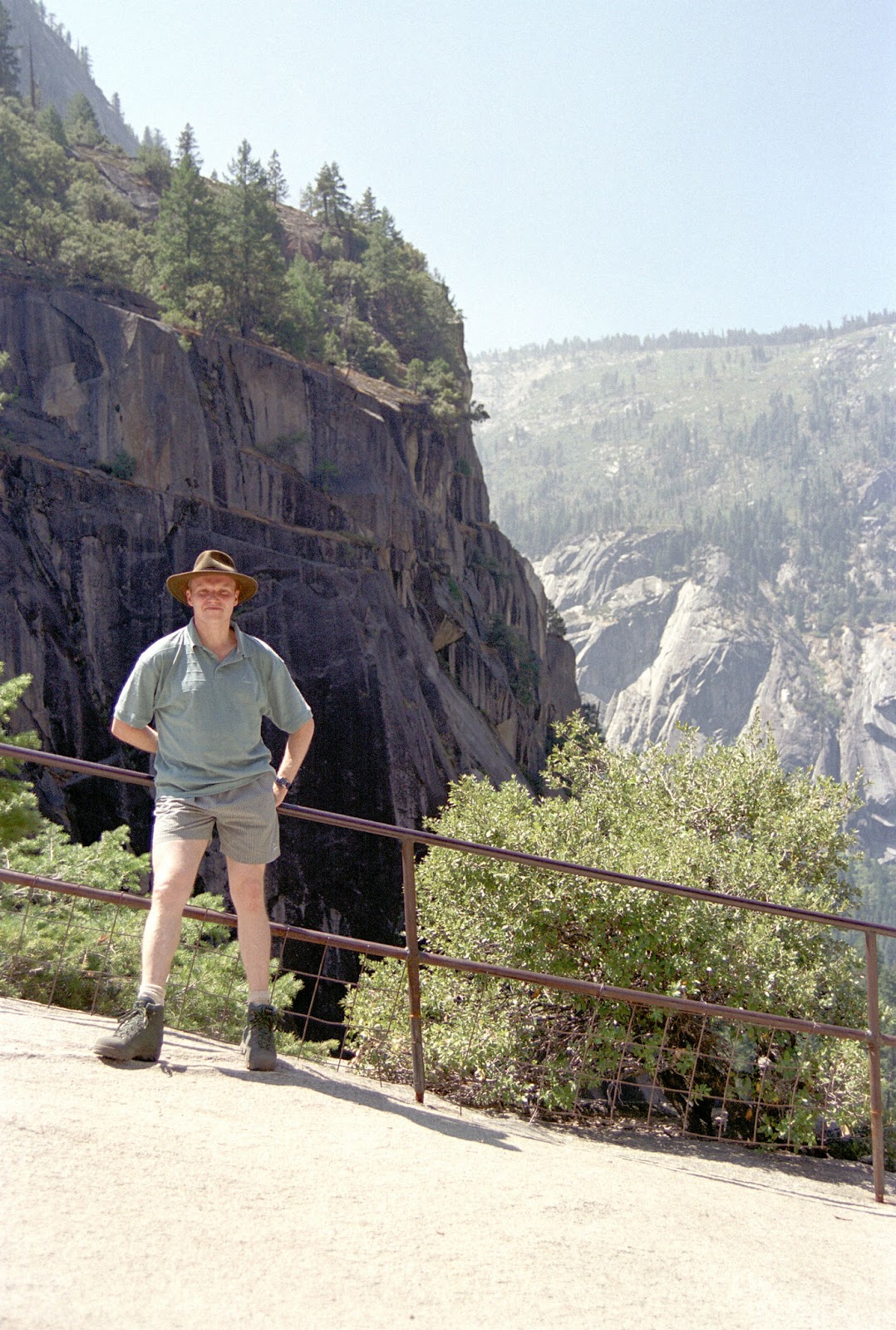 Kev at Glacier Point