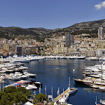 Beautiful Monaco with harbour