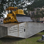 The bulldozer that Che used to divert a train with ammunition - the turning point of the revolution